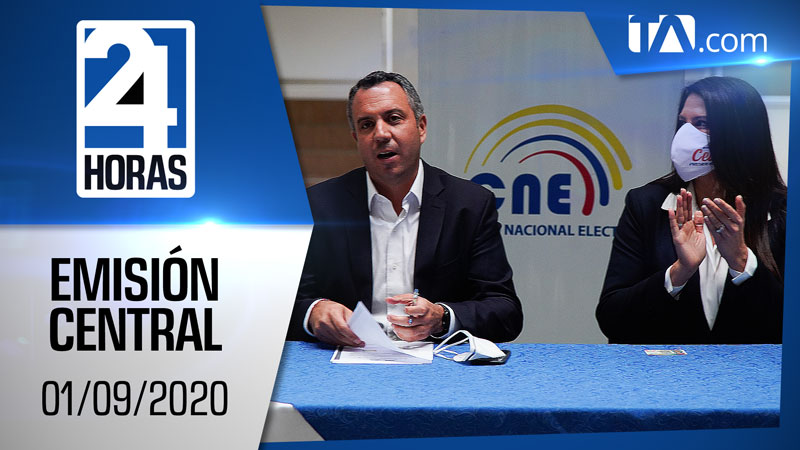 Noticiero 24 Horas, 01/09/2020 (Emisión Central)