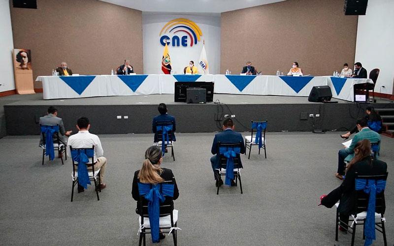 CNE continúa a la espera de asignación presupuestaria