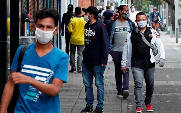 Colombia supera los 750 000 casos de COVID-19