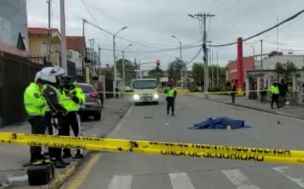 Trágico accidente de tránsito deja un fallecido en Cuenca