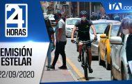 Noticiero 24 Horas, 22/09/2020 (Emisión Estelar)