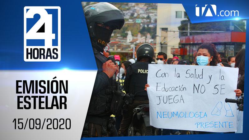 Noticiero 24 Horas, 15/09/2020 (Emisión Estelar)