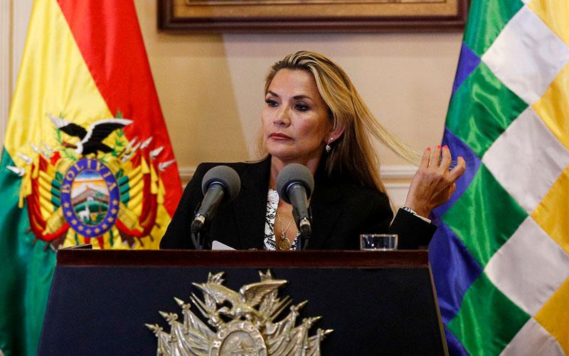 Facebook desmantela red de desinformación a favor de Jeanine Áñez