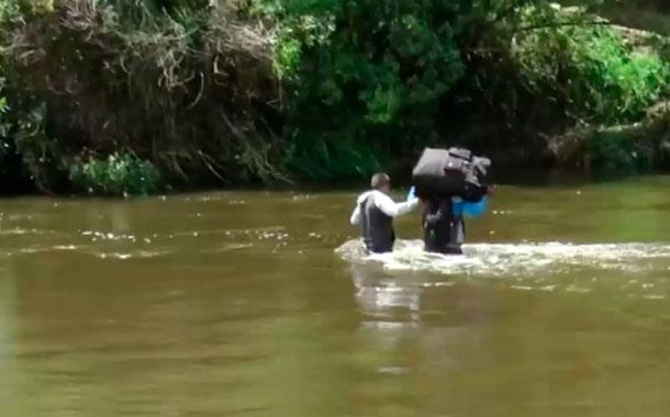 Un hombre de 60 años murió al cruzar la frontera norte por pasos ilegales