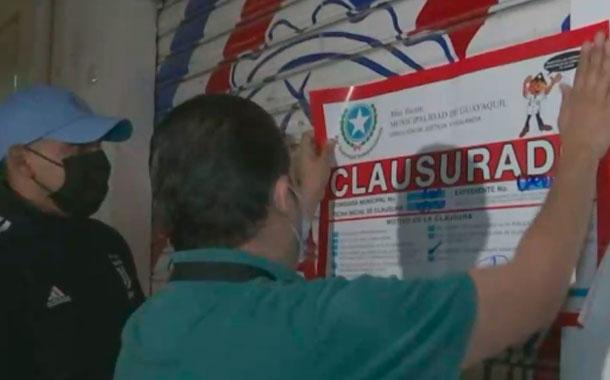 Clausuraron más de 15  licorerías y bares clandestinos en Guayaquil