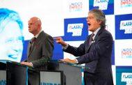 Guillermo Lasso y Alfredo Borrero inscriben su candidatura ante el CNE