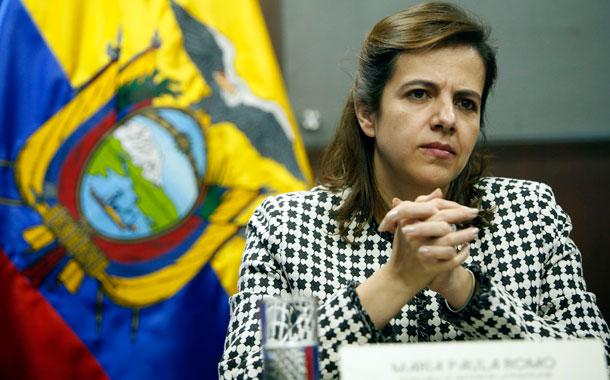 """Lenín Moreno a María Paula Romo: """"Recibe todo nuestro respaldo"""""""