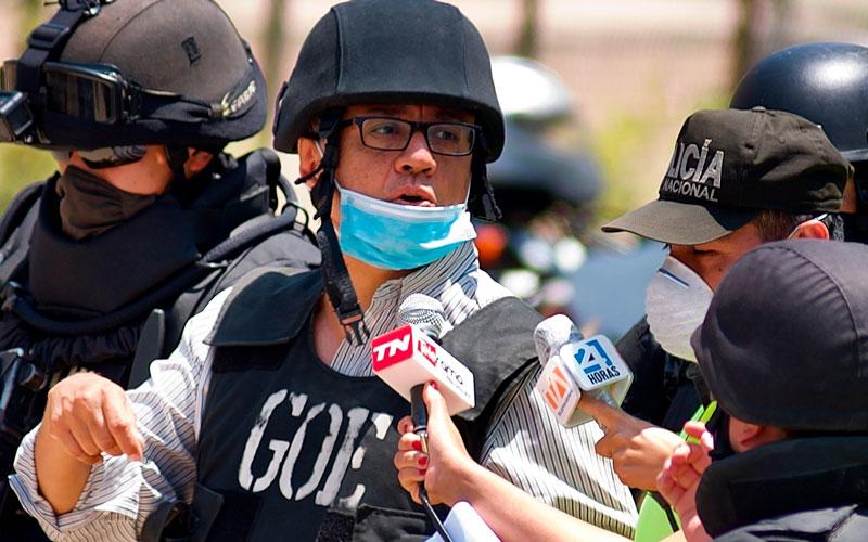 Alexis Mera llegó a la cárcel de Latacunga tras más de seis horas