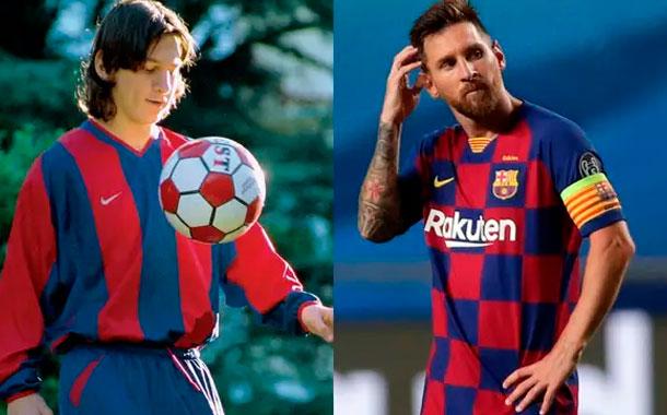 Se cumplen 20 años de la llegada de Leo Messi al Barcelona