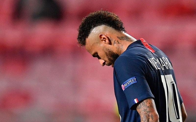 Sancionan a Neymar Jr. con suspensión de partidos tras pleito deportivo
