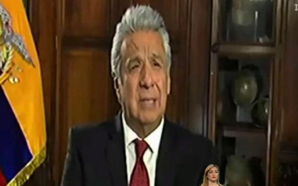 Lenín Moreno conversó con directivos de Wilson Center