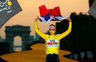 Tadej Pogacar se coronó campeón del Tour de Francia 2020