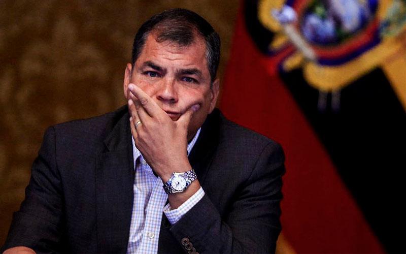 Rafael Correa queda inhabilitado para ejercer cargos públicos