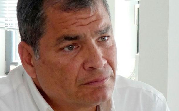 Correa cree que no podrán extraditarlo a Ecuador