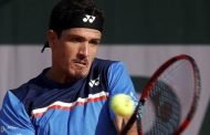 Emilio Gómez ante Lorenzo Sonego en Roland Garros