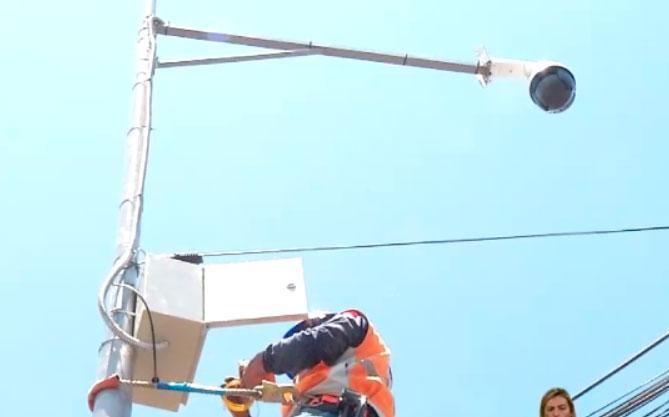 Vecinos de Puembo compraron seis cámaras de videovigilancia