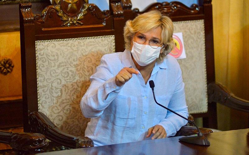 Alcaldesa Cynthia Viteri cuestionó información entregada por MSP