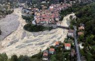 Nueve muertos por fuertes inundaciones entre Francia e Italia