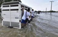 Siete muertos y más de medio millón de afectados por inundaciones en México