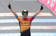 Jan Tratnik se llevó la etapa 16 del Giro de Italia
