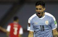 Maximiliano Gómez da la victoria a Uruguay ante una aguerrida Chile