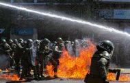 Indígenas chilenos se manifiestan; policía reprime protesta