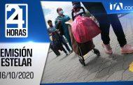 Noticiero 24 Horas, 16/10/2020 (Emisión Estelar)