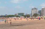 Más de 80 000 personas visitaron las playas durante el feriado