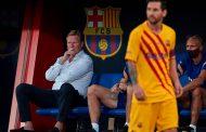 Koeman cree que el rendimiento de Messi podría mejorar, 'pero está feliz'