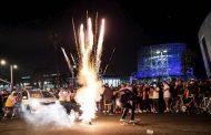 Fanáticos de los Lakers se olvidaron del coronavirus y festejaron