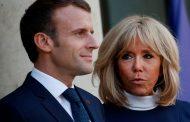 Primera dama de Francia entra en aislamiento tras contacto con un contagiado
