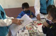 Educadoras del Patronato San José visitan a hijos de comerciantes