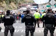Protestas de comerciantes de Tulcán e Ipiales en Rumichaca